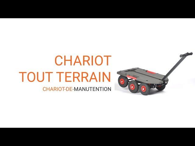 video présentation chariot tout terrain