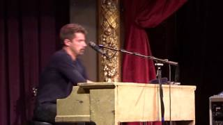 Why I'm Talking to You, Jon McLaughlin, Seattle, WA, 2016