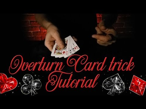 Overturn Card Trick