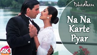 Na Na Karte Pyar - 4K Video | Akshay Kumar Shilpa Shetty | Dhadkan | Bollywood Hindi Romantic Song