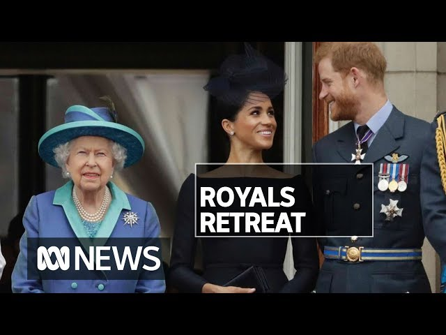 A blow for the Royal Family as Prince Harry and Meghan Markle step back | ABC News