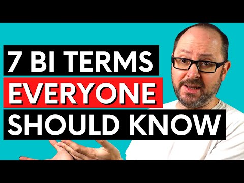 7 Business Intelligence Terms Everyone Should Know   BI For Beginners