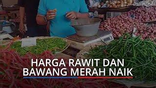 Harga Kebutuhan Pokok di Pasar Raya Padang Hari Ini, Rawit dan Bawang Merah Naik