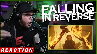 """OMG!!   FALLING IN REVERSE - """"The Drug In Me Is Reimagined"""" (REACTION!!)"""