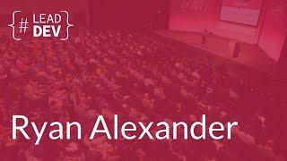 Hacking verbal communication systems – Ryan Alexander | The Lead Developer UK 2016