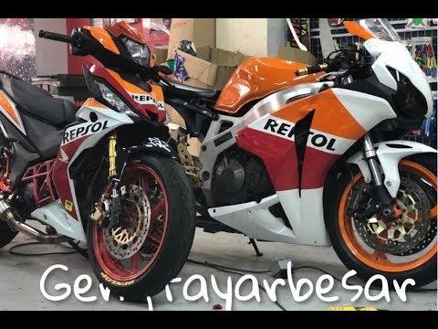 throttle body dan IACV sensor service by kecik pomen #rs150r #repsol