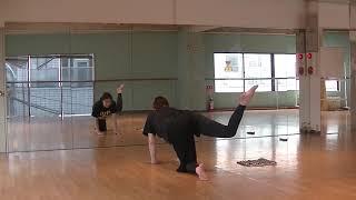 香音先生のダンス講座~背筋・腿上げ~のサムネイル画像