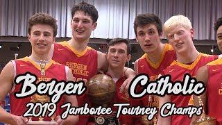 Bergen Catholic 54 Don Bosco Prep 41   Bergen Jamboree Finals   Doug Edert Drops Game-High 21 Points
