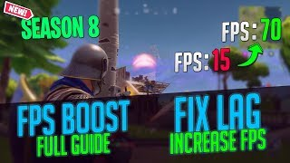 Fortnite increase fps fix lag