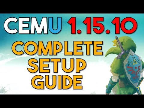 Cemu 1,15,10 | Complete Setup Guide for Maximum Performance