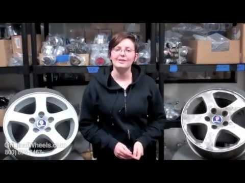 9-2X Rims & 9-2X Wheels - Video of Saab Factory, Original, OEM, stock new & used rim Co.