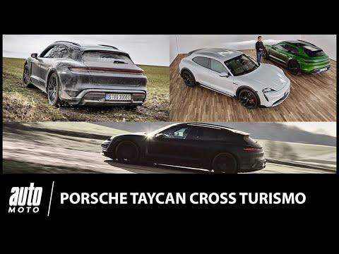 Essai Porsche Taycan Cross Turismo : week-end branché