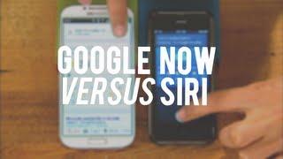 Google Now vs. Siri: The results speak for themselves