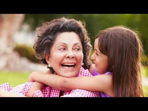 Поздравление бабушке с днём рождения внучки! Красивая музыкальная открытка.