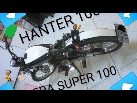 Sundown Hanter 90/100 Estilo Cafe Racer (modificada)