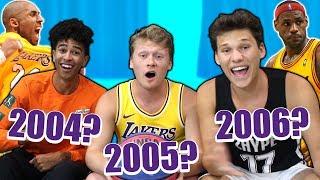 CAN 2HYPE GUESS WHEN NBA STARS HAD THEIR BEST SEASON?
