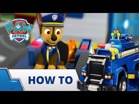 PAW Patrol - Ultimate Police Cruiser - How To Play