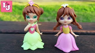 Маджики Радужные Принцессы Распаковка Испания Маленькие коллекционные куклы от Де Агостини