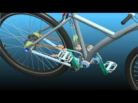 체인없는 자전거 - 스트링바이크