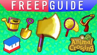FREEPGUIDE - AC:NL - Gold Tools!