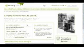 How to Cancel an Ancestry.com Account