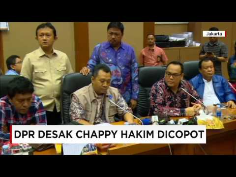 DPR Desak Freeport Copot Chappy Hakim