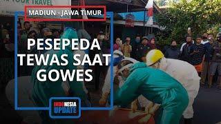 Detik-detik Pesepeda Jatuh saat Gowes di Madiun, Saksi Sempat Lihat Korban Gemetaran