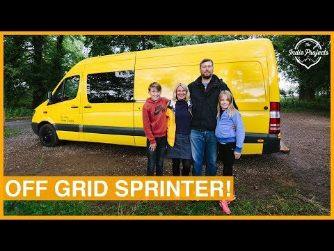 Family's Incredible Self-Build Sprinter Van - VAN TOUR!