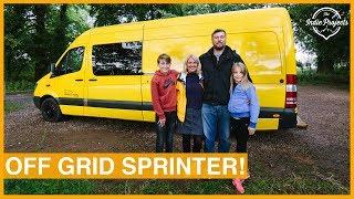 Family's Incredible Self-Build Sprinter Van - VAN TOUR!