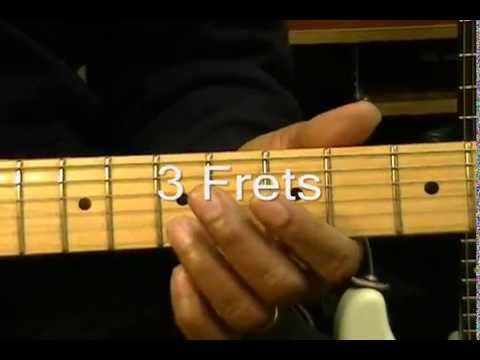 😎 How To Play An Electric Guitar Solo Without Even THINKING About Scales In Am #1