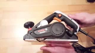 Meister Elektrohobel MEH 900-1 900 Watt, Electrical Power Planer - [Unboxing! 4K]