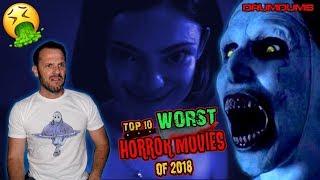DRUMDUMS 10 WORST HORROR MOVIES OF 2018 (Gross!!)