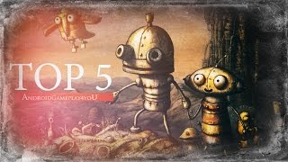 Top 5 Best Point & Click Adventure Android Games 2014 (HD)