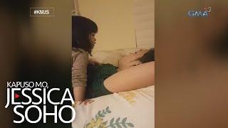 Kapuso Mo, Jessica Soho: Dalawang taong gulang na bata, viral matapos tila sermunan ang amang lasing