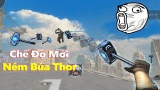 """Chế Độ Mới CFQQ Ném Búa """"Thor"""" Té SML Cực Vui - Rùa Ngáo"""