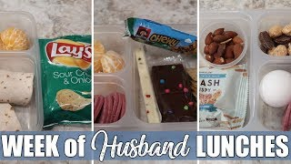 Husband's First Lunches of 2019 | Cold Lunch Ideas