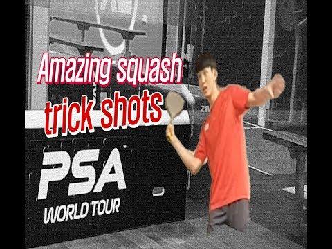 [영훈TV] Amazing squash trick shots/ 미친 스쿼시 트릭샷 모음!!