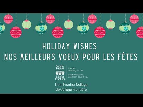 2020 Happy Holidays / Joyeuses Fêtes thumbnail