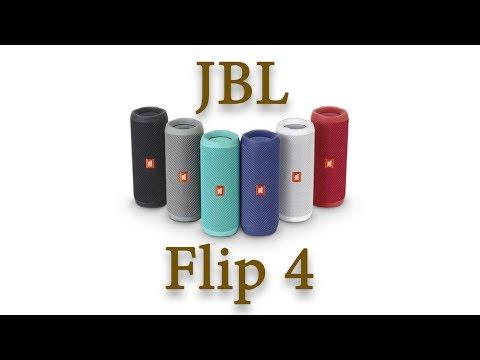 JBL Flip 4 IPX7 Blue