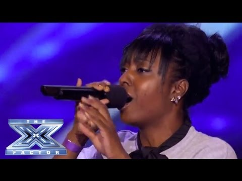 """Ashly Williams' Emotional """"I Will Always Love You"""" Prompts Tears - THE X FACTOR USA 2013"""