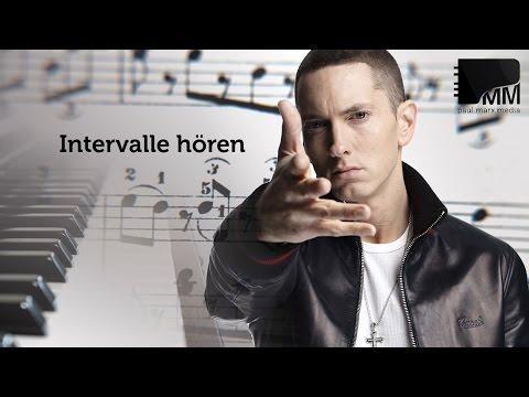 Musiktheorie 05 - Intervalle hören mit Eminem