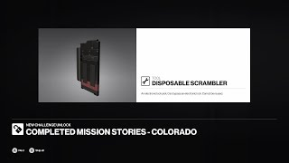 Hitman 2 Unlocking Disposable scrambler guide in Colorado mission Freedom fighters walkthrough