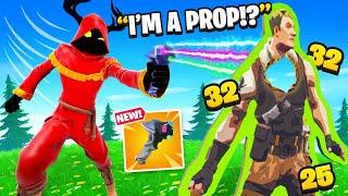 Trolling With *NEW* PROP GUN.. (Prop-ifier)