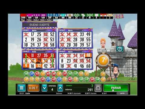 Juego de Bingo Gratis - Bingo Castle de MGA