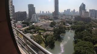 Extra Large Three Bedroom for Rent with  Views of Lumpini Park and Royal Bangkok Sport Club in Ratchadamri