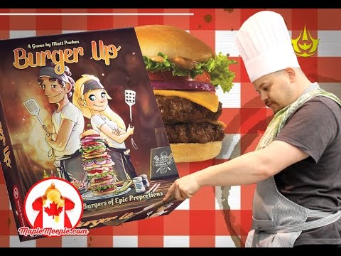 Maple Meeple Reviews: Burger Up