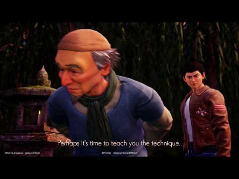 Ryo &Master Trailer MAGIC 2019 de Shenmue 3