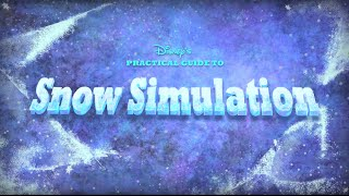Disney's Practical Guide to Snow Simulation