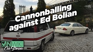 Ed Bolian wanted to race me in a Cannonball