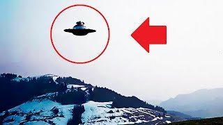 👽 НЛО над Гималаями - реальная съемка 2017 HD (UFO)